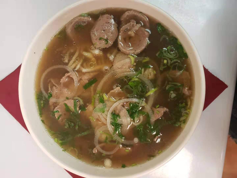 46. Special Beef Noodle Soup (Pho Dae Biet)