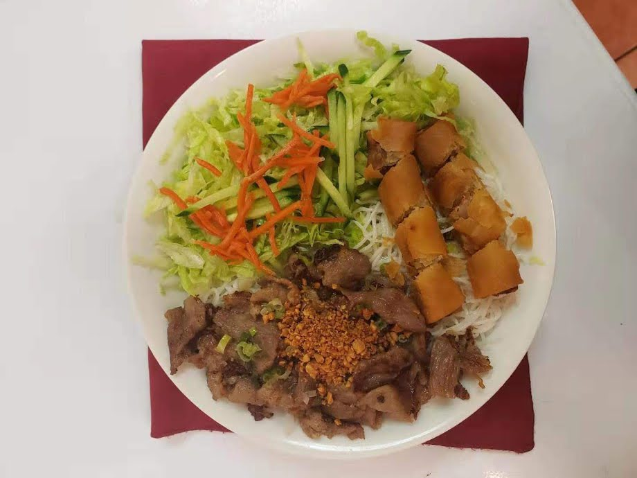21. Charbroiled Pork and Spring Rolls Vermicelli Bowl