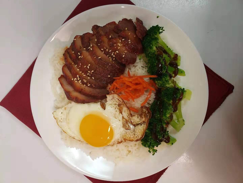 73. BBQ Pork on Rice